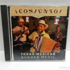 CDs de Música: DISCO CD. VARIOS – ¡CONJUNTO! - TEXAS-MEXICAN BORDER MUSIC, VOLUME 1. COMPACT DISC.. Lote 231125295