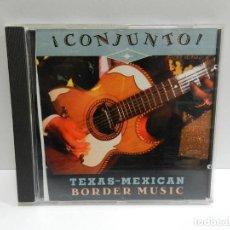 CDs de Música: DISCO CD. VARIOS – ¡CONJUNTO! - TEXAS-MEXICAN BORDER MUSIC, VOLUME 2. COMPACT DISC.. Lote 231125665