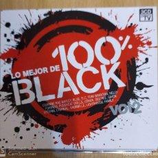 CDs de Música: LO MEJOR DE 100% BLACK VOL. 2 - 3 CD'S 2007 (BLUE, ALICIA KEYS, NELLY FURTADO, TONY BRAXTON...). Lote 231229170