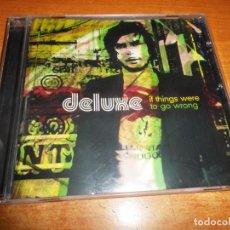 CDs de Música: DELUXE IF THINGS WERE TO GO WRONG CD ALBUM DEL AÑO 2004 CONTIENE 17 TEMAS XOEL LOPEZ INDIE. Lote 289896388