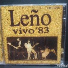 CDs de Música: CD LEÑO VIVO 83 ROSENDO CD +DVD SONY PEPETO. Lote 231240275