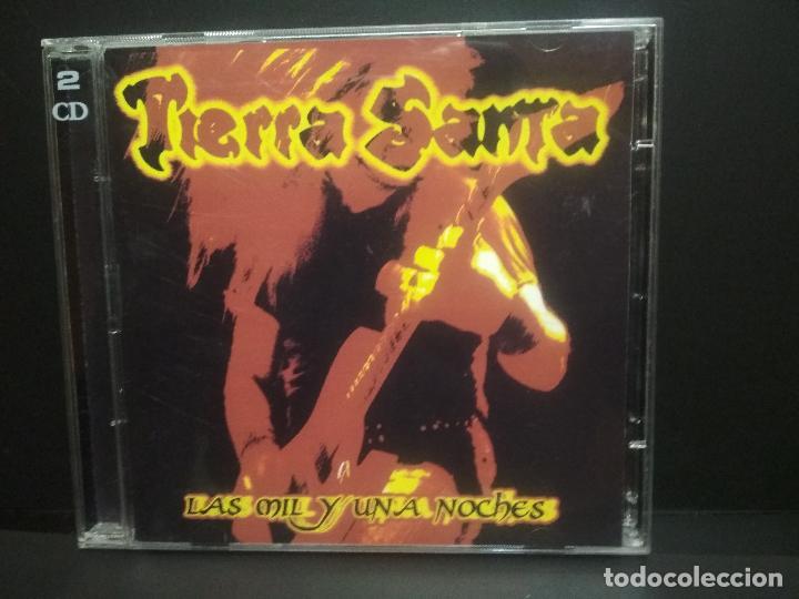 TIERRA SANTA // LAS MIL Y UNA NOCHES // DOBLE CD - CONTIENE LIBRETE Y CANTIDAD DE FOTOS PEPETO (Música - CD's Heavy Metal)
