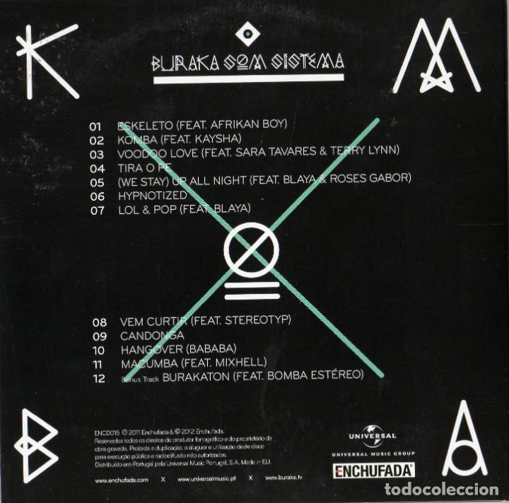 CDs de Música: BURAKA SOM SISTEMA - 4 CDS - Foto 6 - 231380425