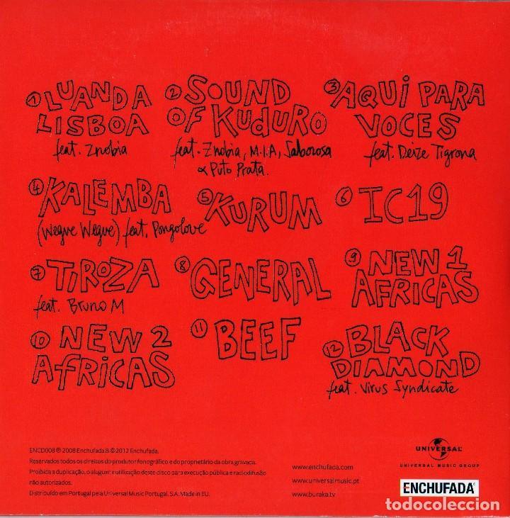 CDs de Música: BURAKA SOM SISTEMA - 4 CDS - Foto 7 - 231380425