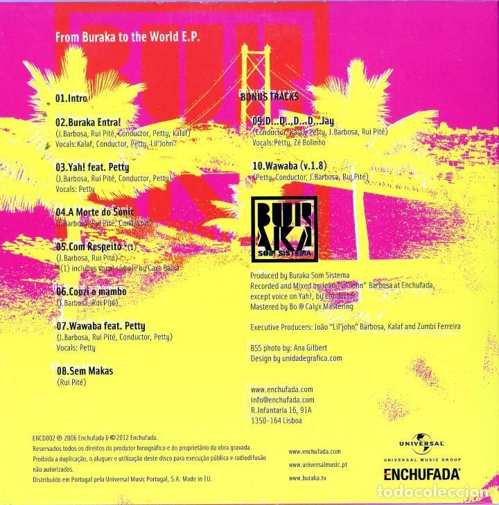 CDs de Música: BURAKA SOM SISTEMA - 4 CDS - Foto 9 - 231380425