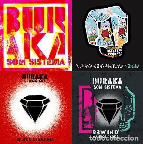 BURAKA SOM SISTEMA - 4 CDS (Música - CD's World Music)