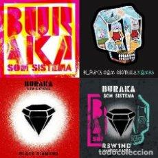 CDs de Música: BURAKA SOM SISTEMA - 4 CDS. Lote 231380425