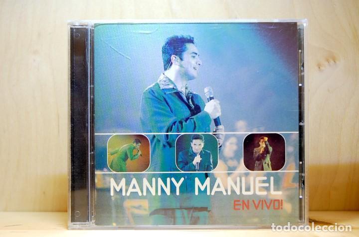MANNY MANUEL - EN VIVO - CD - (Música - CD's Latina)