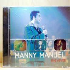 CDs de Música: MANNY MANUEL - EN VIVO - CD -. Lote 231422185