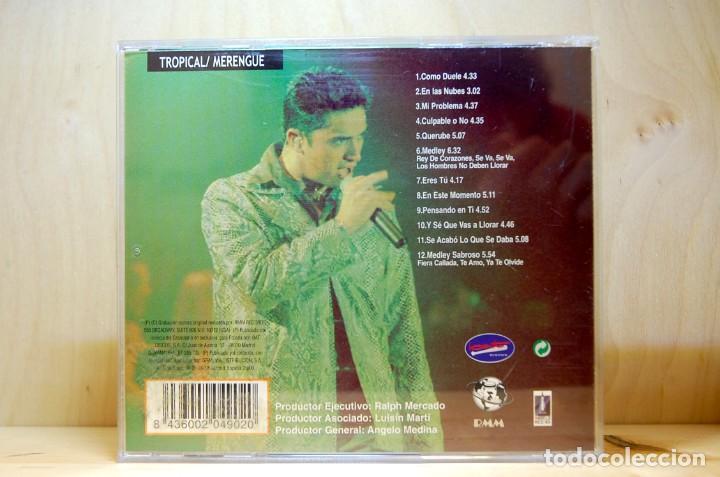 CDs de Música: MANNY MANUEL - EN VIVO - CD - - Foto 2 - 231422185