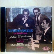 CDs de Música: ALFREDO DE ANGELIS Y SU ORQUESTA TÍPICA - ADIÓS MARINERO - CD -. Lote 231422205