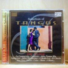 CDs de Música: SELECTION OF TANGOS DELUXE - (LA CUMPARSITA, CAMINITO, ADIÓS PAPA MÍA...) - CD -. Lote 231422265