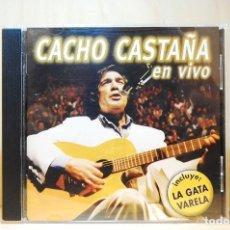 CDs de Música: CACHO CASTAÑA - EN VIVO - CD -. Lote 231425505