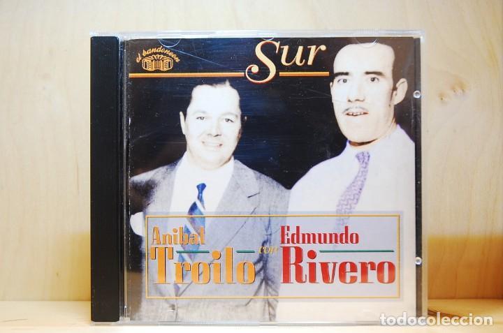 ANÍBAL TROILO CON EDMUNDO RIVERO - SUR - CD - (Música - CD's Latina)
