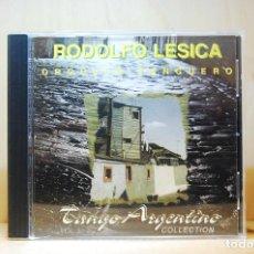 CDs de Música: RODOLFO LESICA - ORGULLO TANGUERO. TANGO ARGENTINO COLLECTION - CD -. Lote 231425560