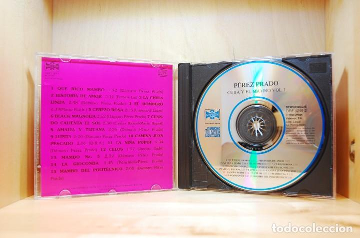 CDs de Música: PÉREZ PRADO - CUBA Y EL MAMBO - VOL 1 - CD - - Foto 3 - 231425615