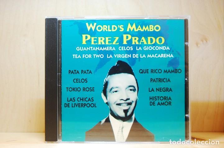 PÉREZ PRADO - WORLD'S MAMBO - CD - (Música - CD's Latina)