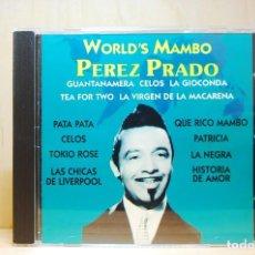 CDs de Música: PÉREZ PRADO - WORLD'S MAMBO - CD -. Lote 231425630