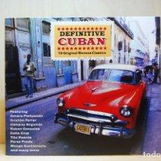 CDs de Música: DEFINITIVE CUBAN - 75 ORIGINAL HAVANA CLASSICS - 3 CD'S -. Lote 231425785