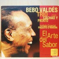 CDs de Música: BEBO VALDÉS TRIO - EL ARTE DEL SABOR - CD -. Lote 231425820