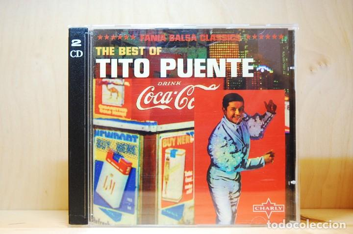 TITO PUENTE - THE BEST OF - DOBLE CD - (Música - CD's Latina)
