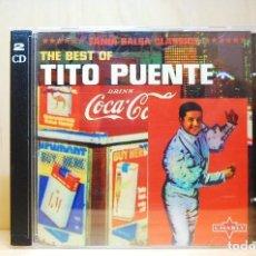 CDs de Música: TITO PUENTE - THE BEST OF - DOBLE CD -. Lote 231425845