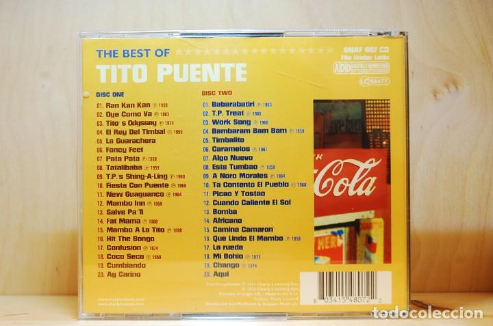 CDs de Música: TITO PUENTE - THE BEST OF - DOBLE CD - - Foto 2 - 231425845