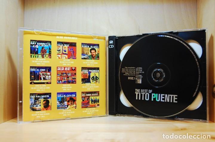 CDs de Música: TITO PUENTE - THE BEST OF - DOBLE CD - - Foto 3 - 231425845