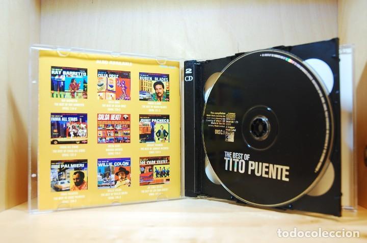 CDs de Música: TITO PUENTE - THE BEST OF - DOBLE CD - - Foto 5 - 231425845
