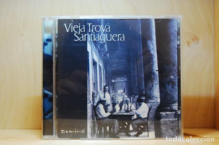 VIEJA TROVA SANTIAGUERA - DOMINÓ - CD - (Música - CD's Latina)