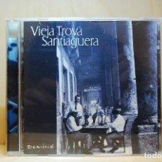 CDs de Música: VIEJA TROVA SANTIAGUERA - DOMINÓ - CD -. Lote 231425940