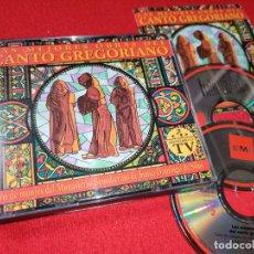 CDs de Música: LAS MEJORES OBRAS DEL CANTO GREGORIANO 2CD 1993 EMI ESPAÑA SPAIN XIAN SILOS FRANCISCO LARA. Lote 231443330