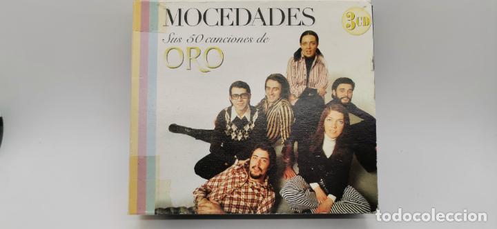 3 CD - MOCEDADES - SUS 50 CANCIONES DE ORO - MUSICFILMS 2004 (Música - CD's Otros Estilos)