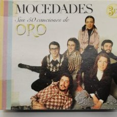 CDs de Música: 3 CD - MOCEDADES - SUS 50 CANCIONES DE ORO - MUSICFILMS 2004. Lote 231480400