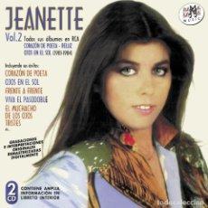CDs de Música: JEANETTE VOL 2 - TODOS SUS ALBUMES EN RCA (1981-1984) - 2XCD. Lote 289314638