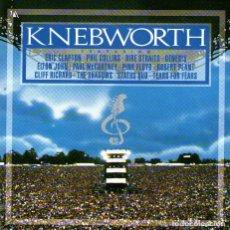 CD di Musica: DOBLE CD ALBUM: KNEBWORTH - CON ELTON JOHN, MCCARTNEY, CLAPTON, PINK FLOYD Y OTROS - POLYDOR UK 1990. Lote 231621780