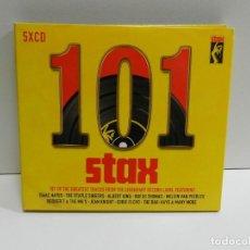 CD de Música: DISCO 5 X CD. VARIOS – 101 STAX. COMPACT DISC.. Lote 231636155