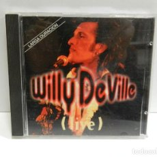 CD de Música: DISCO CD. WILLY DEVILLE – (LIVE). COMPACT DISC.. Lote 231651765