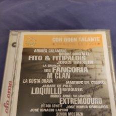 CDs de Música: CD EFE EME. CON BUEN TALANTE. CALAMARO, FITO, FANGORIA, COSTA BRAVA, LOQUILLO, EXTREMODURO, LAPIDO... Lote 231664095
