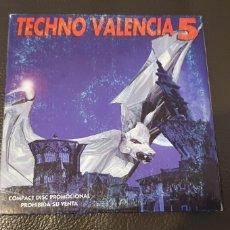 CDs de Música: TECHNO VALENCIA 5 CD SINGLE CARD DE PROMOCIÓN. Lote 231703575
