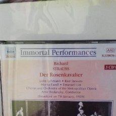 CDs de Música: RICHARD STRAUSS - DER ROSENKAVALIER. 3 CD,S OPERA. Lote 231720825