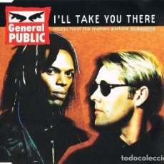 CDs de Música: GENERAL PUBLIC - I'LL TAKE YOU THERE (CD SINGLE: 6 TEMAS). Lote 231802760
