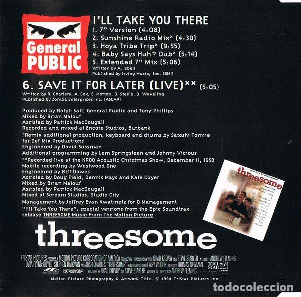 CDs de Música: General Public - Ill take you there (CD Single: 6 temas) - Foto 2 - 231802760