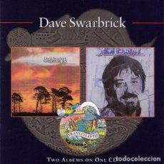 CDs de Música: DAVE SWARBRICK - SMIDDYBURN + FLITTIN'. Lote 231805355