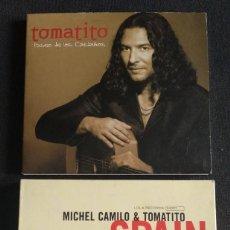 CDs de Música: LOTE 2 CD TOMATITO - PASEO DE LOS CASTAÑOS / SPAIN - GUITARRA TOMATITO Y PIANO MICHEL CAMILO. Lote 231806515
