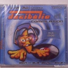 CDs de Musique: 2021 .JOAN CRUZ DECIBELIA 2005 CD DVD PRECINTADO.. Lote 231900710