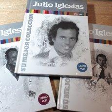 CDs de Música: JULIO IGLESIAS LOTEXDE 3 CDS LIBRO. Lote 231911205
