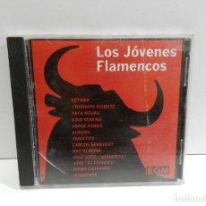 CDs de Música: DISCO CD. VARIOS – LOS JÓVENES FLAMENCOS. COMPACT DISC.. Lote 231922995