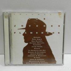CDs de Música: DISCO CD. VARIOS – LOS JÓVENES FLAMENCOS VOLUMEN II. COMPACT DISC.. Lote 231923100