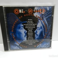 CDs de Música: DISCO CD. VARIOS – ONE WORLD: MUSIC FROM AROUND THE WORLD. COMPACT DISC.. Lote 231947370